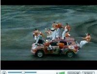 Pub Vidéos Nissan Qashqai Car Games : délires 2008
