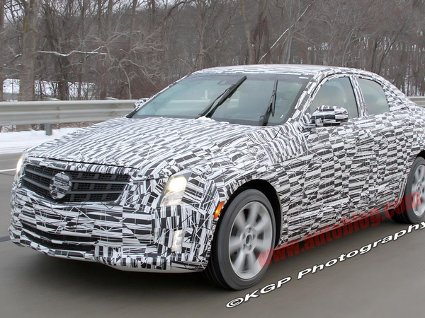 "Future Cadillac ATS: de plus en plus ""visible"""