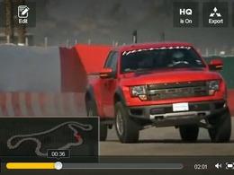 Top Gear USA : Ford F-150 Hennessey VelociRaptor 600, un pick-up de 600ch sur la piste de l'émission