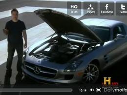 Top Gear USA : la Mercedes-Benz SLS AMG vue par les Américains