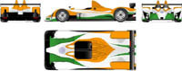 24 Heures du Mans 2007: une Courage indienne sur les rangs