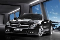 Mercedes SL SV12 S Biturbo roadster by Brabus : officielle