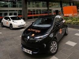 L'Alliance Renault-Nissan va fournir 200 véhicules électriques à Orange