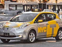 A New York, la Nissan Leaf joue les taxis
