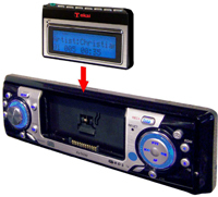 Autoradio Tokai avec baladeur MP3