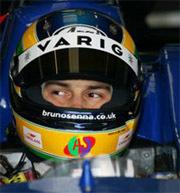 Bruno Senna avec Arden en GP2