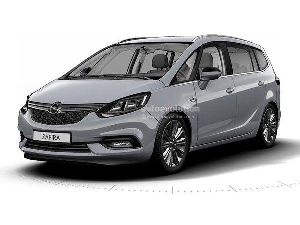 Surprise : voici l'Opel Zafira restylé