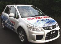 Suzuki SX4-FCV à l'hydrogène : essai routier autorisé
