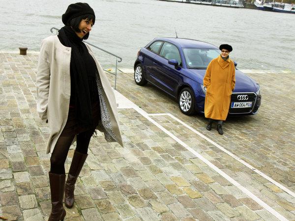 Nos drôles de dames testent l'Audi A1