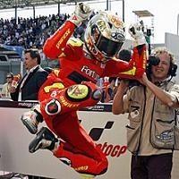 Moto GP 2008: Lorenzo est comblé.