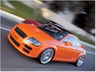 Audi TT show car Boston