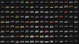Gran Turismo PSP : la liste des 830 voitures