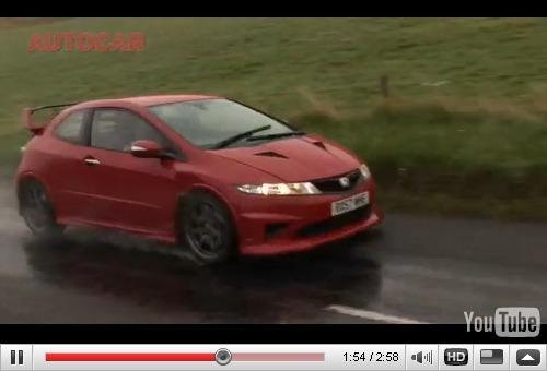 Réveil Auto : la Mugen Civic Type R bat au moins la R26-R au niveau du bruit