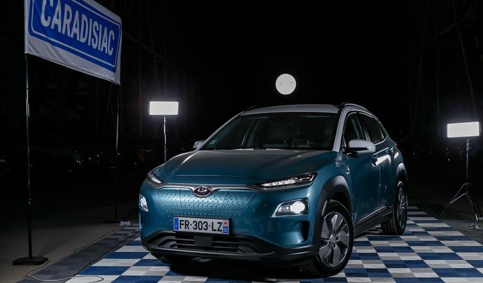 Hyundai Kona Electric : infatigable - Salon de l'auto Caradisiac