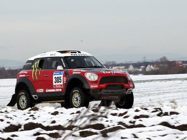 La Mini All4 Racing d'X-Raid en photos