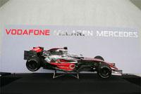 Présentation de la nouvelle McLaren Mercedes à Valence