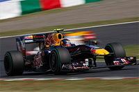 F1-GP du Japon: Victoire pour Vettel, Button pas encore champion !