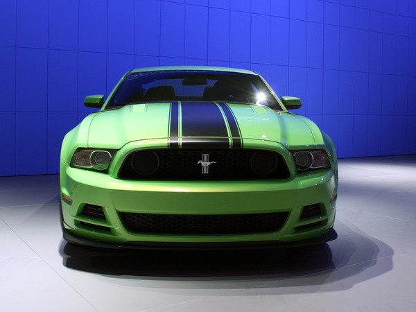 Ford Mustang Boss 302 au Salon de Detroit