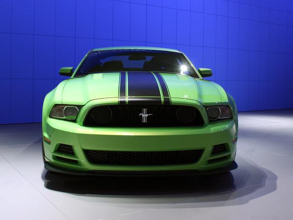 Ford Mustang Boss 302 au Salon de Detroit