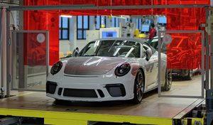 Porsche n'a presque pas subi la crise