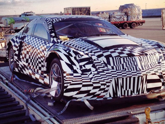 La future Cadillac ATS-V GT3 surprise avant son envol?