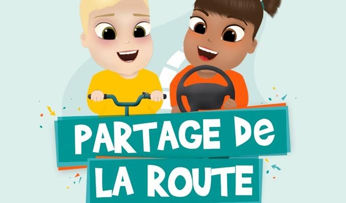 Le 18juillet c'est la Journée nationale du Partage de la Route!