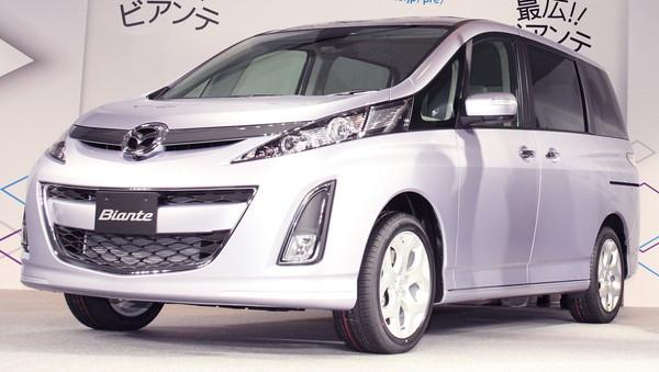Nouveau Mazda Biante : pour 8 japonais seulement !