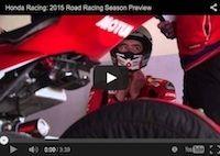 Honda Racing Roads Season Preview: vidéo
