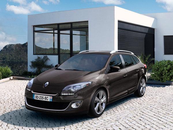 Renault Megane Collection 2012 :  Energy, feux à leds et noir laqué au programme
