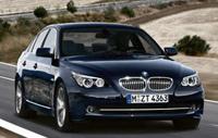 La BMW Série 5 se régénère au freinage