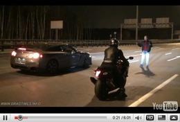 Réveil Auto : Nissan GT-R Switzer P800 contre Suzuki Hayabusa, quelle est la plus rapide jusqu'à 300 km/h ?