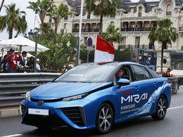 """F1 : le Grand Prix de Monaco """"ouvert"""" par le Prince en Toyota Mirai"""
