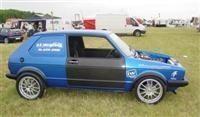 VW Golf + Suzuki Hayabusa = Busagolf