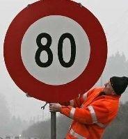 Sécurité routière – 80 km/h: sur certains tronçons les motos vont ralentir les camions