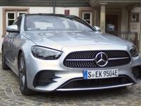 Mercedes Classe E (2020): la voiture des notaires chausse les baskets