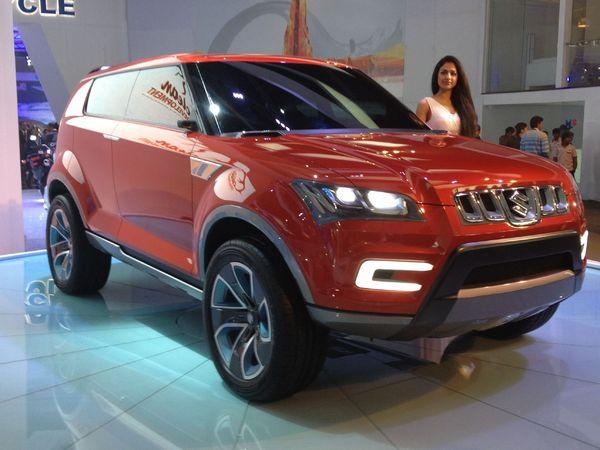 New Delhi 2012 : Maruti-Suzuki XA Alpha Concept, le futur Jimny ?