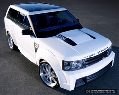 Range Stormer West Coast Customs : 3 portes + top chop