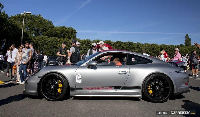 Photos du jour : Porsche 911 R (Parade des Pilotes du Mans)
