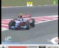 Vidéo GP2 : Bruno Senna percute un chien à pleine vitesse