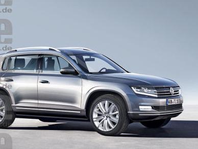 Futur Volkswagen Tiguan 2: l'histoire vraie, par Auto Bild