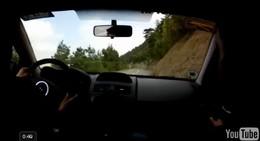 Vidéo : Megane R26-R en ouverture de rallye (grosse attaque inside)