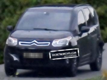 Citroën C3 Picasso: le restylage se précise