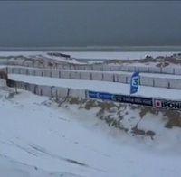 Enduropale 2012 : la neige accueille les 1000 motards...