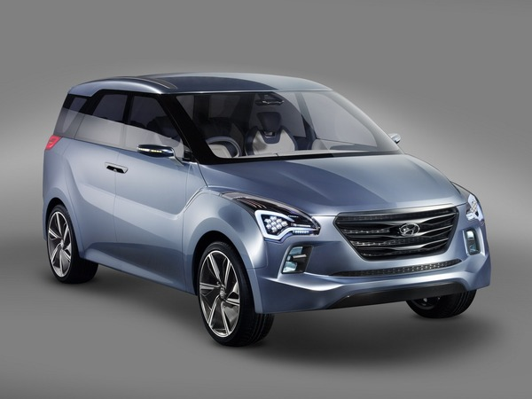 New Delhi 2012 : Hyundai Hexa Space HND-7 Concept