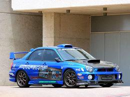 Subaru WRX : Chargée a tous les niveaux..