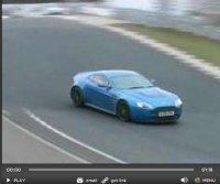 Vidéo : Aston Martin Vantage RS, son et lumière