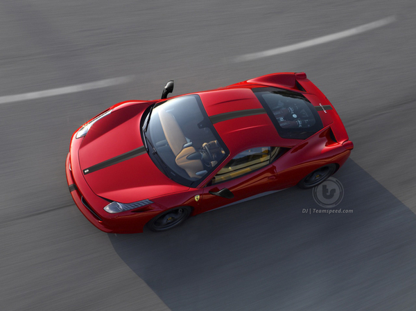 Ferrari 458 Scuderia : comme ça?