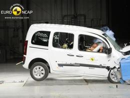 Mercedes Citan : seulement trois étoiles Euro NCAP, mais...