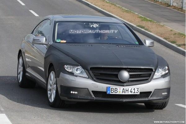 Spyshot : Mercedes Classe S Coupé