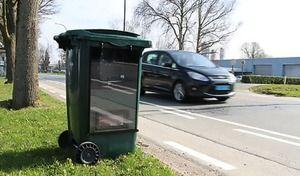 Bientôt un nouveau super-radar caché dans une poubelle?